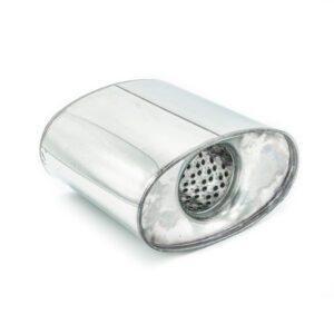 Пламегаситель коллекторный овальный 160х090хL140 D57