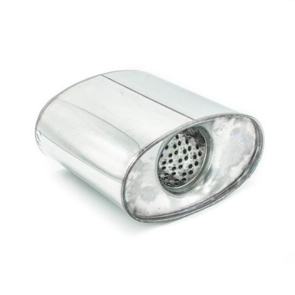 Пламегаситель коллекторный овальный 160х090хL150 D57