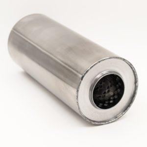 Пламегаситель 100xL250 d54 с диффузором магистральный