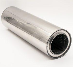 Пламегаситель 100xL350 d72 с диффузором
