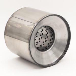 Пламегаситель коллекторный 120х100 d63