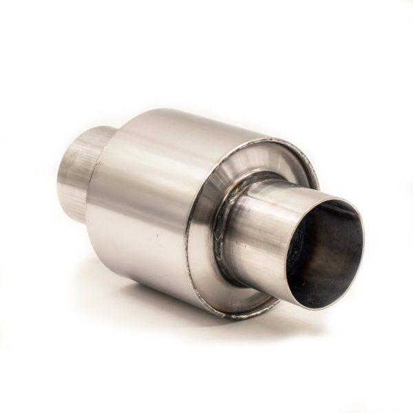 Пламегаситель с патрубками 095Х080 D54