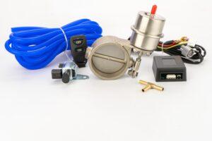 Комплект вакуумной заслонки для выхлопа  60мм-63мм-76мм