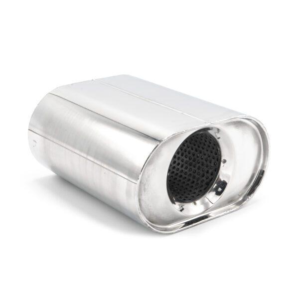 Пламегаситель коллекторный овальный 136Х80Х L150 D57