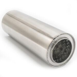 Пламегаситель D100xL290xD72 с диффузором