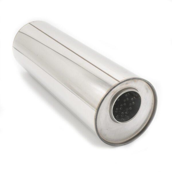 Пламегаситель D120xL370xD57 со смещением и диффузором