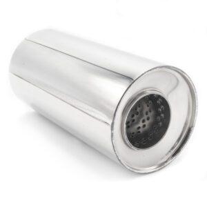 Пламегаситель D120xL250xD63 со смещением и диффузором