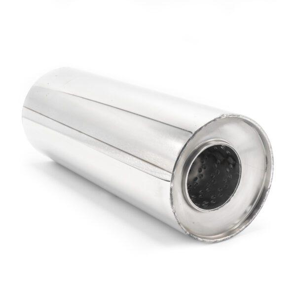 Пламегаситель D120xL320xD63 со смещением и диффузором