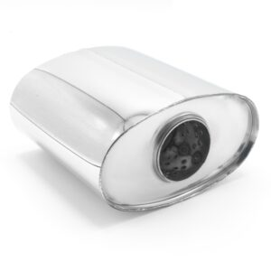 Пламегаситель овальный 160х90xL150 D54 с диффузором