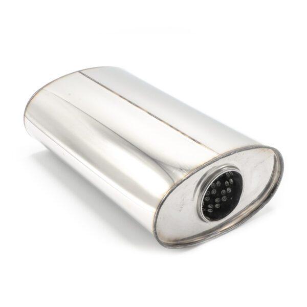 Пламегаситель овальный 160х90xL250 D54 с диффузором