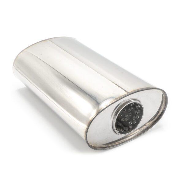 Пламегаситель овальный 160х90xL250 D57