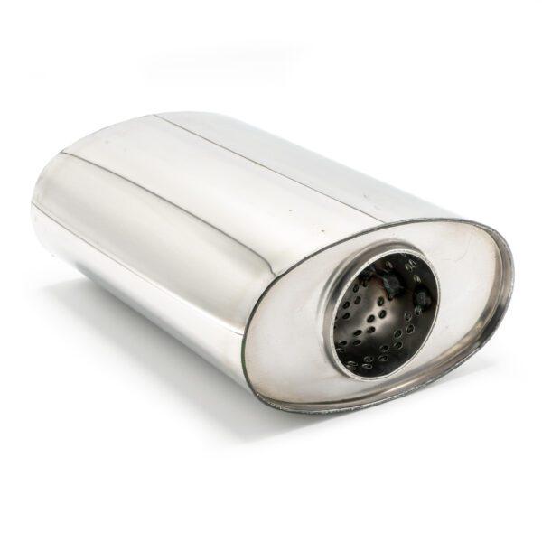Пламегаситель овальный 160х90xL210 D63