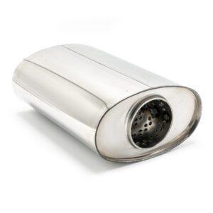 Пламегаситель овальный 160х90xL210 D63 с диффузором
