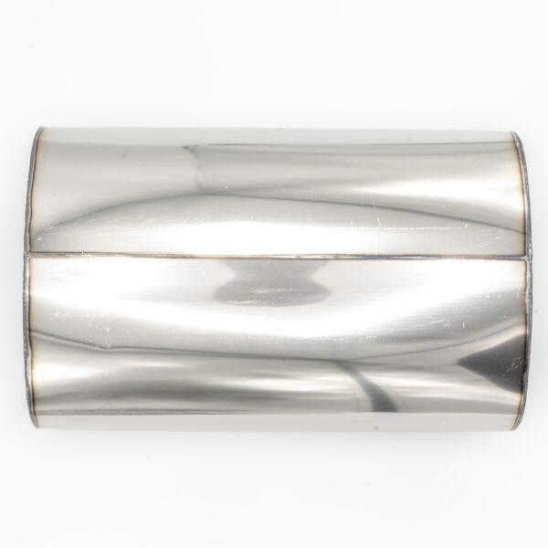 Пламегаситель овальный 160х90xL250 D63 с диффузором