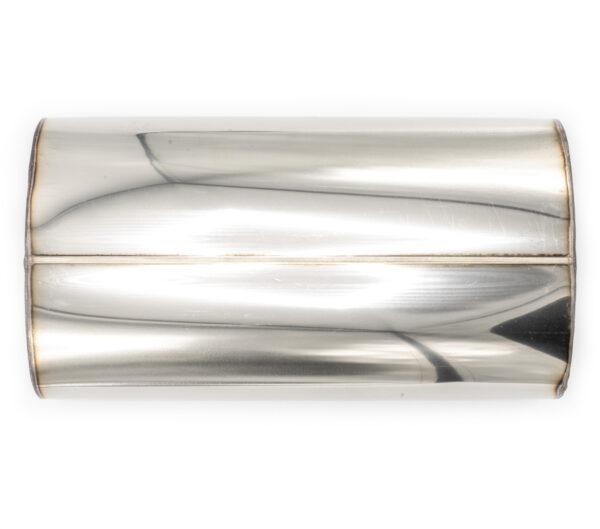 Пламегаситель овальный 160х90xL290 D63 с диффузором