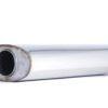 Пламегаситель овальный 160х90xL420 d63 с диффузором