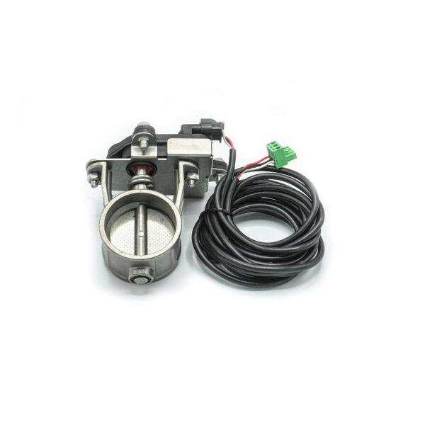Электронная заслонка для глушителя 50 мм