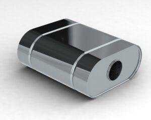 Глушитель управляемый DS1.280.63/57L