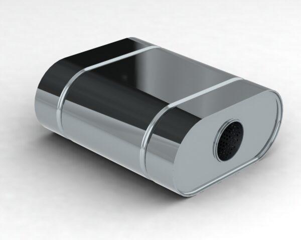 Глушитель прямоточный LS1.380.57/57L