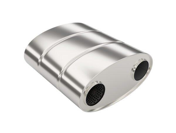 Глушитель прямоточный LS2.280.76/76R