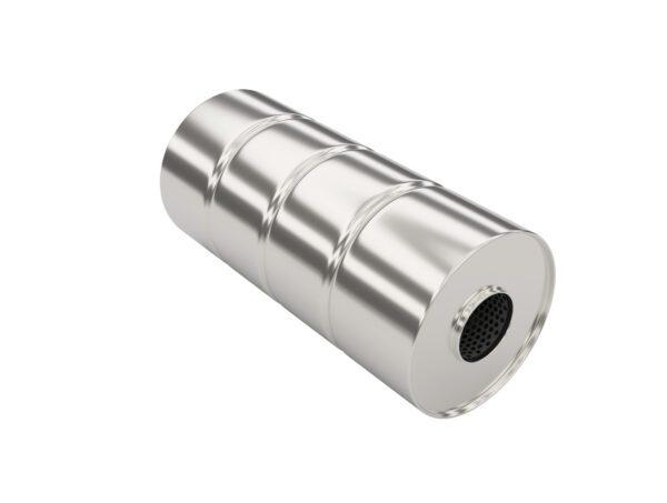 Глушитель прямоточный (с камерой) SS3.140.380.57-57