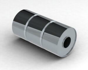 Глушитель прямоточный (с камерой) SS3.120.280.51-51