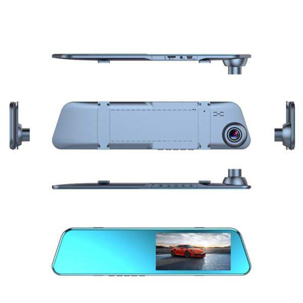 Зеркало заднего вида с регистратором и камерой заднего хода S300